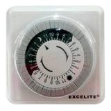 Programador Electrico Timer Reloj 110v 24h Temporizador