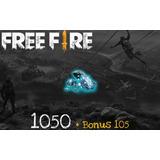 Free Fire! Recarga De 1050 Diamantes Seguro