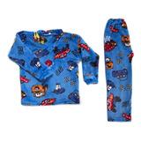 Pijamas Térmicas Cars Niños