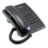 Teléfono Alámbrico Panasonic Kx-ts500 Negro