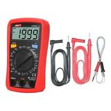 Multimetro  Digital Uni-t Ut33c+, Temperatura, Tester