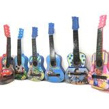 Guitarras Acusticas Niños Hasta 4 Años+ Forro+nombre+correa