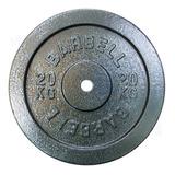 Disco De 40lb Hierro Para Mancuerna-barra- Pesa Gym 2.5cm Di