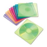 Paquete De 10 Cajas Delgadas Innovera Para Cd Transparentes
