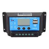 Controlador Regulador De Carga Panel Solar 10a Pwm