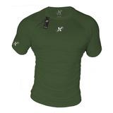 Camiseta Deportiva Licra Fria Slim Fit Uv