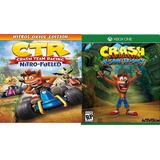 Combo!!! Crash Bandicoot Y Crash Team Racing Offline Xbx