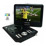 Televisor Con Tdt Dvd Portátil 7 Pulgadas Usb Fm Juegos + Ob