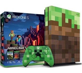 Xbox One S Edicion Minecraft