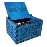 Caja Musical Harry Potter (hedwig) Hogwarts Quidditch Madera