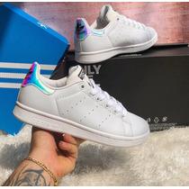 Tenis Zapatillas adidas Stan Smith Tornasol Mujer Envi Grati