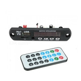 Módulo Reproductor Mp3 Usb/micro Sd Bluetooth, Radio Fm, Aux