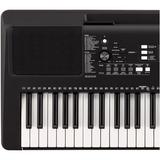 Yamaha Psr-e363 Piano + Base, Estuche, Dvd Y Envío Citimusic