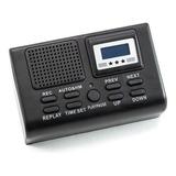 Mini Grabadora De Llamadas Telefónicas Graba En Formato Mp3