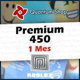 Suscripción Roblox Premium 450 Robux Todas Las Plataformas
