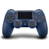Control Ps4 Playstation 4 Azul Media Noche Midnight Blue