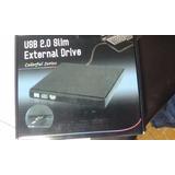 Unidad Dvd Externa Ultra Slim Quemador Externo Dvd Usb Win10