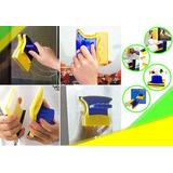 Limpia Vidrios Magnetico Clean, Limpiador Facil Para Alturas