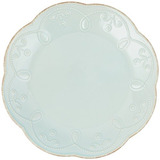 Lenox French Perle Accent Plate Azul Hielo