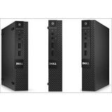 Cpu Dell 9020 Mini Usada / Core I5 4ta / 4gb En Ram / 500dd