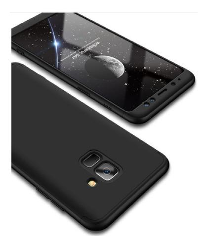 Protector Estuche  360 Samsung Galaxy A8  2018 Negro