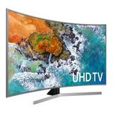 Televisor Samsung 55nu7500 55p Curvo 4k Smarttv Plateado