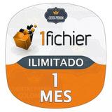 Cuentas 1fichier Premium 1 Mes Ilimitado - Original 30 Días