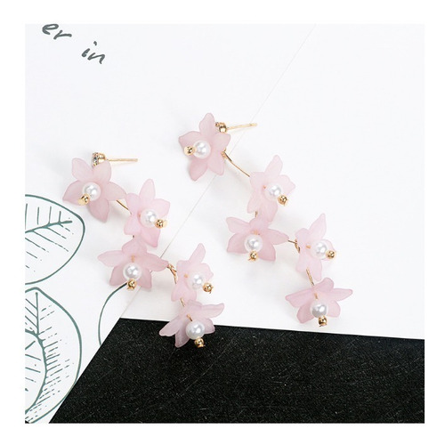 b028d432f73d Aretes Flores De Cerezo Aretes Coreanos Pendientes Acero