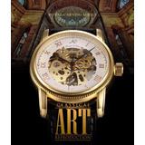 Reloj Ks Alemán Skeleton Automático Mecánico Original Acero