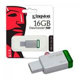 Memoria Usb 3.0 Kingston Dt50 16gb 100% Original Garantizada
