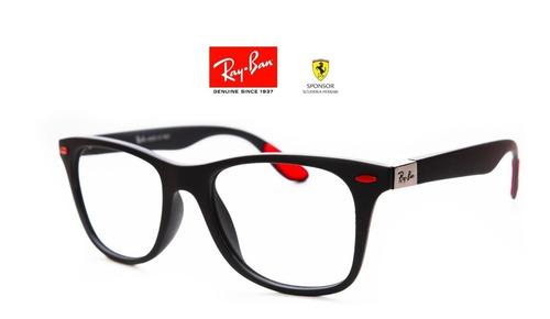 cb652a59fb Gafas Para Montura Ray Ban Ferrari - 4 Diseños Disponibles