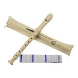 Flauta Dulce Yamaha Soprano Yrs-23 + Método