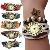 Reloj Con Dijes Diseño De Moda Colores Surtidos Mujeres Dama