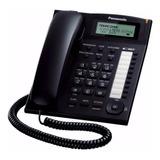 Teléfono Panasonic Ejecutivo Kx T7716 Con Identificador Neg