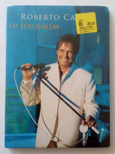 Dvd Roberto Carlos Em Jerusalem