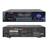Amplificador Bluetooth Ap2000bt / Usb Audiopro 2 Canales