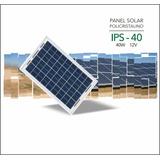 Panel Solar Policristalino 40w 12v