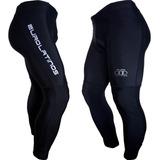 Lycra Compresión Muscular Protector Uv Pantalón Largo Hombre