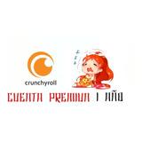 Crunchyroll Premium Cod1 Año + 5 Meses
