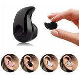 Mini Audífono Inalambrico Bluetooth, Negro + Obsequio