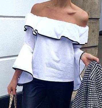 Blusas para mujer Limonni LI630 Campesinas
