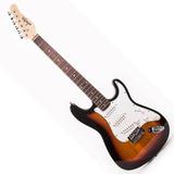 Guitarra Konige Last32sb Electrica Stratocaster Sunburst