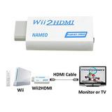 Wii2hdmi Convertidor Hdmi Para Wii.