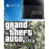 Dinero Gta V Online Ps4 + 1000000 Millón(oferta)