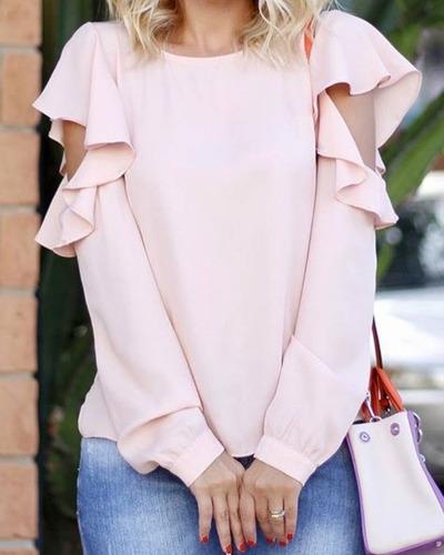 Blusas para mujer Limonni LI621 Campesinas