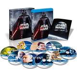Star Wars - La Saga Completa: Episodios I-vi Blu Ray 9-disc