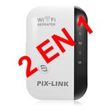 Repetidor Amplificador De Señal Wifi Router 300mbps Portable