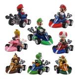 Carro Mario Kart Car Super Mario Bros Coleccion + Obsequio
