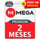 Cuentas Mega Premium 2 Meses 1000gb Mensual Envio Inmediato