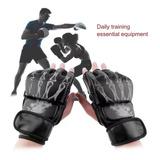Guantes De Artes Marcialesmedio  De Muay Thai Kick Boxeo Mma